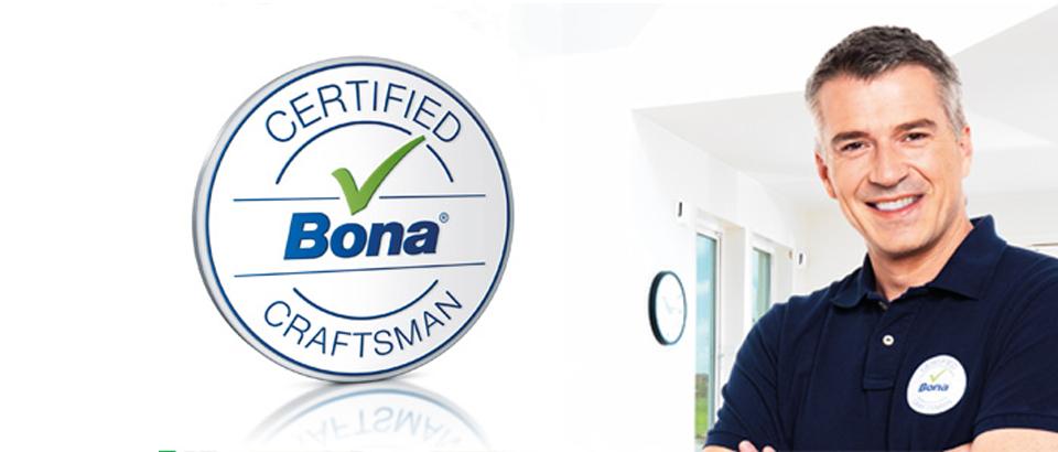 Profissional pavimentos em madeira certificado Bona
